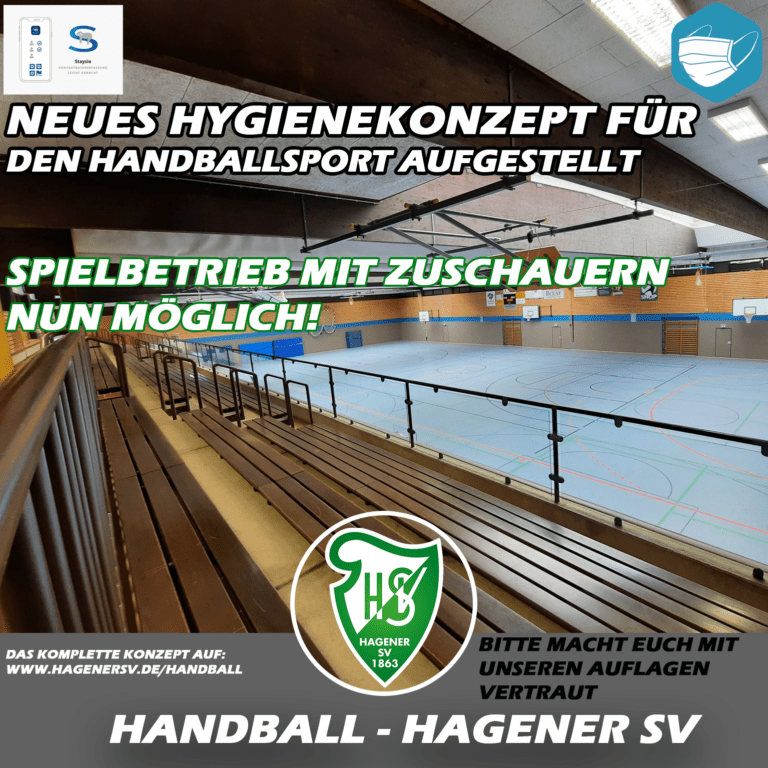 Handball Hygienekonzept