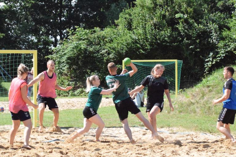 Beachhandballturnier in Sandstedt